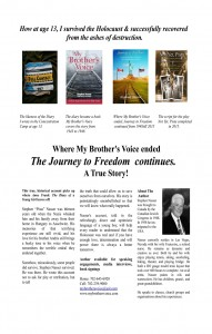 Journey to Freedom flyer